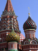 Moscow, the St. Basil Church — Stock Photo