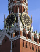 Moscow, the Kremlin tower — Stock Photo