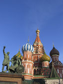 St. Basil Chapel in Moscow — ストック写真
