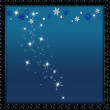 Stars and snow flakes - Stock Photo