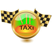 Icon VIP Taxi — Stock Vector