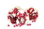 Fresh appetizing pomegranate — Stock Photo