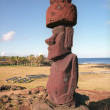 Religion sculpture on Easter island — Stock Photo #2651779