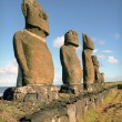 Stock Photo: Religion sculpture on Easter island