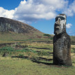 Easter island - Stock Photo