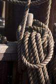 Båt rep — Stockfoto