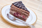 Chocolate cake — Stock Photo
