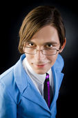 Portrait of fashionable young man — Stock Photo