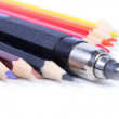 Royalty-Free Stock Photo: Wooden pencils kit and mechanical