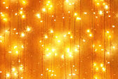 Garlands bulb lights — Stock Photo