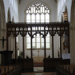 Stock Photo: Mediaeval Church Nave