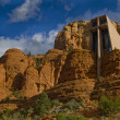 Chapel of the Holy Cross - Stock Photo
