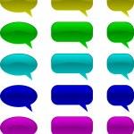 Comic speech bubbles — Stock Vector
