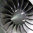 Engine blades - Stock Photo