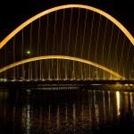 Modern Suspension Bridge — Stock Photo #2675423
