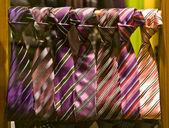 Modern ties — Stock Photo