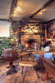 Vintage restaurant — Stock Photo