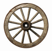 старое колесо — Стоковое фото