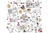 Cute doodle — Stock Vector