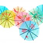 Paper drink umbrellas — Stock Photo #2649985