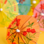 Paper drink umbrellas — Stock Photo #2650098