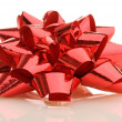 Red gift bow — Stock Photo #2655040