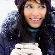 Royalty-Free Stock Photo: Winter girl