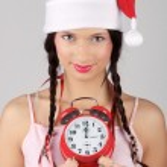 Santa-girl — Stock Photo #2657380