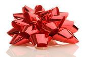 Rode geschenk boog — Stockfoto