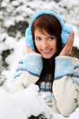 Ragazza inverno — Foto Stock