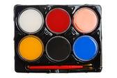 Akvarel barvy palety — Stock fotografie