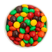 Bowl of candies — Stock Photo