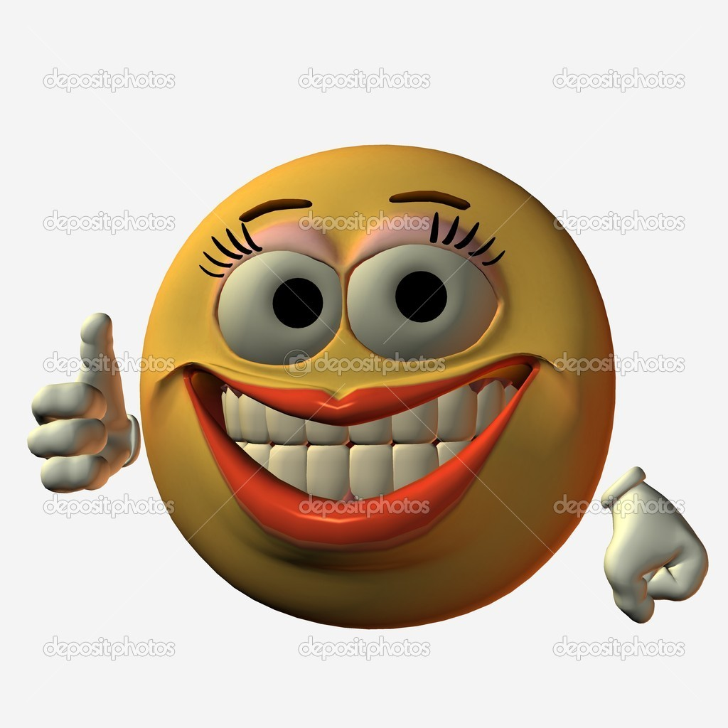 3D Render of an Smiley — Stock Photo #2653535