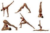Sexy Yoga Poses — Stock Photo