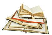 Książki z wiedzy — Zdjęcie stockowe