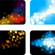 Royalty-Free Stock Imagem Vetorial: Blurred backgrounds.