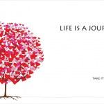 Love tree, valentine's day-06 of 06 — Stock Vector