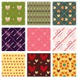 Royalty-Free Stock Vector Image: Lovely patterns