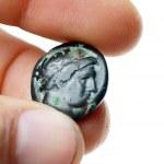 Old roman coin — Stock Photo