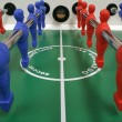 Stock Photo: Foosball table