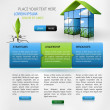 Royalty-Free Stock Imagem Vetorial: Web design template