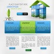 web design template — Stockvectorbeeld