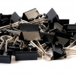 Binder Clips — Stock Photo