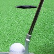 Stock Photo: Golf Putter