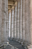 St. Peter colonnade — Stock Photo