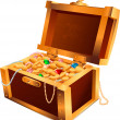 Treasures Chest - Imagen vectorial
