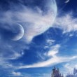 thumbnail of Landscape in fantasy planet