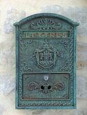 Régimódi francia postaláda