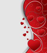Valentines greeting card vector illustration