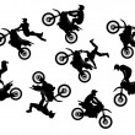 thumbnail of Motocross rider